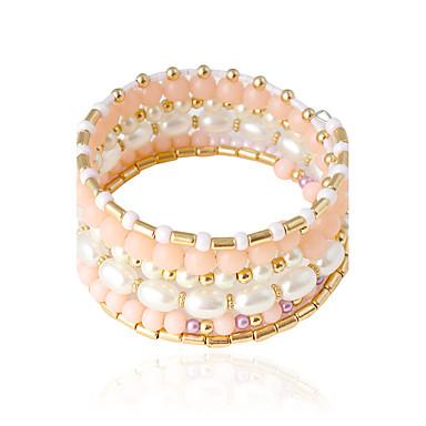 Damen Armreife Künstliche Perle Künstliche Perle Aleación Rohrform Schmuck Hochzeit Party Alltag Normal Modeschmuck