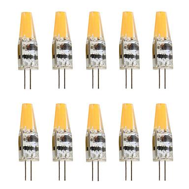 10pcs 2W 200-250lm G4 Luces LED de Doble Pin T 1 Cuentas LED COB Decorativa Blanco Cálido Blanco Fresco 12V