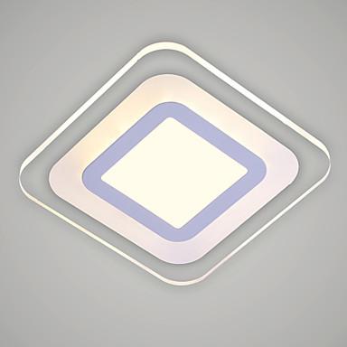 Ecolight™ Moderne / Nutidig Takplafond Omgivelseslys - LED, 90-240V, Varm Hvit Kald Hvit, LED lyskilde inkludert