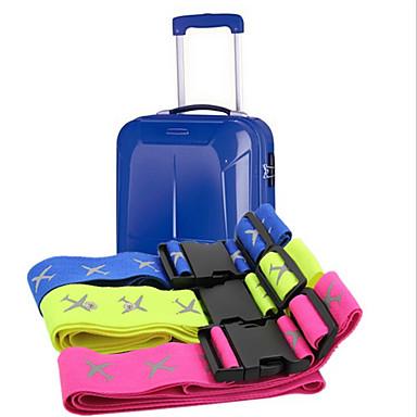 Outdoor-Reisegepäck reflektierende Paket mit farbigen Nylonband mit einem Satz von drei Farb