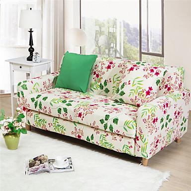 farverige blomster multifunktionelle all-inclusive fuld sofa dækglasset cover stretch elastik ensfarvet sofa tilfælde