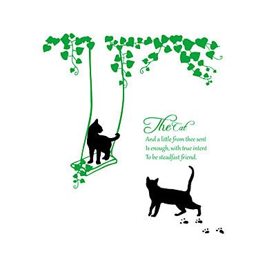 Tiere Worte & Zitate Botanisch Wand-Sticker Worte & Zitate Wandaufkleber Dekorative Wand Sticker Haus Dekoration Wandtattoo Glas /