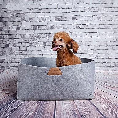 Kat / Hond bedden Huisdieren Matten & Pads draagbaar groen / grijs / oranje Stof