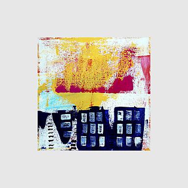 Håndmalte Abstrakt olje malerier,Moderne Et Panel Lerret Hang malte oljemaleri For Hjem Dekor