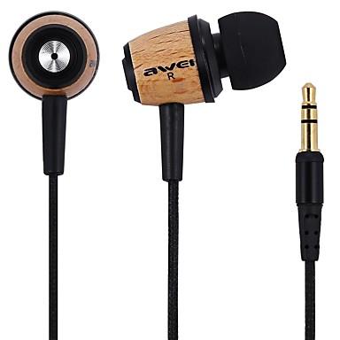 AWEI Q9 I øret Med ledning Hodetelefoner Tre Mobiltelefon øretelefon Støyisolerende Headset