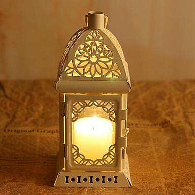 Lysestager Arabesque Vintage Hjem Dekoration,