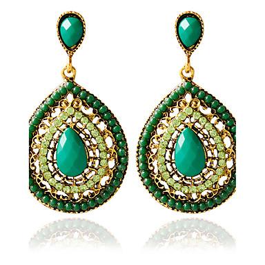 Dame Stangøreringe - Mode Grøn Til Bryllup