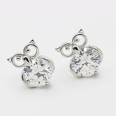 Earring Animal Shape Smykker Dame Mote Bryllup / Party / Daglig / Avslappet / Sport Legering / Strass 1 par Sølv