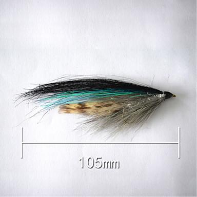 500 pçs Iscas Isco Duro g / Onça, 105 mm / 4-1/16