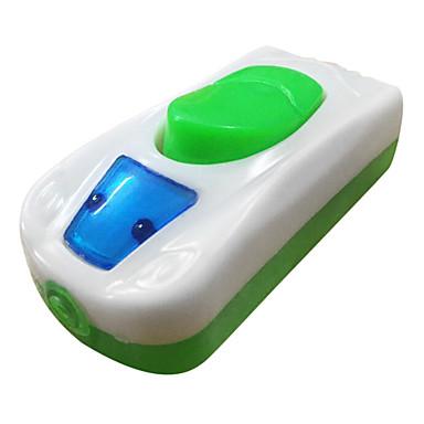 skifte elektroniske måleinstrumenter plastmateriale hvid farve ac strømforsyning fem af en pakke