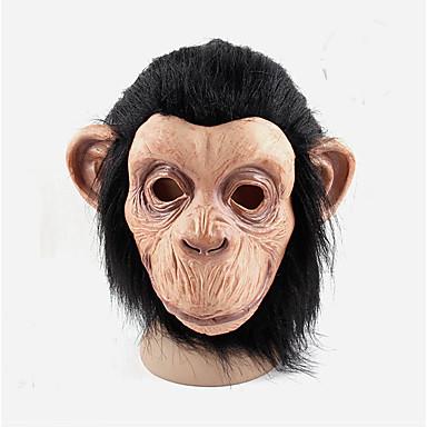 cosplay mænd kvinder latex abe masker party bold gummi fuld ansigt mardi gras maske kostume halloween bold latex maske