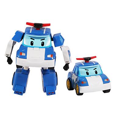 Robot Játékautók Rendőrautó Játékok Gép Robot Anime Darabok Ajándék