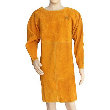 forsyning læder svejsning forklæder anti-hot brandhæmmende tøj svejser beskyttelsesbeklædning