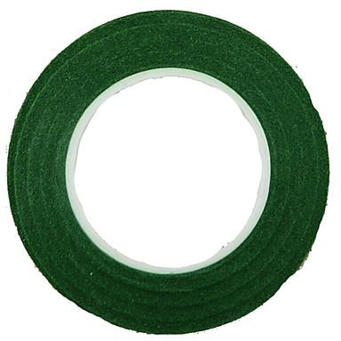 diy krans 1,2 cm brede groene krans handgeschept papier tape 30j