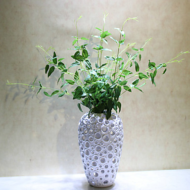 1pc 1 Ast Polyester / Kunststoff Pflanzen Tisch-Blumen Künstliche Blumen 27.55inch/70CM