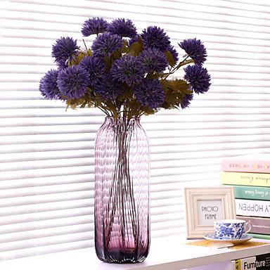 1 haara Polyesteri Muovi Others Pöytäkukka Keinotekoinen Flowers