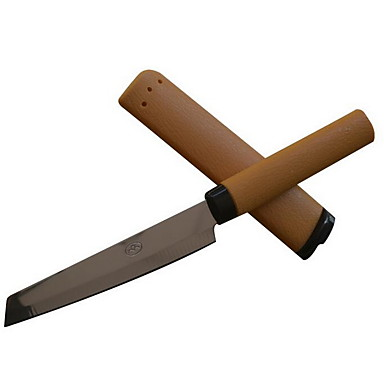 rustfrit stål frugt kniv frugt skrællekniv med dæksel