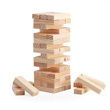 Επιτραπέζια παιχνίδια Παιχνίδια στοίβαξης Ξύλινα τουβλάκια Μίνι Ξύλινος Κλασσικό Αγορίστικα Κοριτσίστικα Παιχνίδια Δώρο