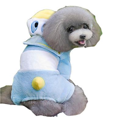 Kat Hund Kostume Hættetrøjer Hundetøj Cosplay Dyr Blå