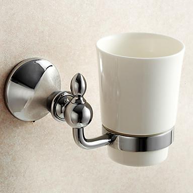 Porte brosse dent gadget de salle de bain miroir poli fixation murale 3 9 3 9 5 9 inch - Fixation miroir salle de bain ...