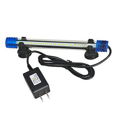 Fisk Akvarier Led Lys Hvit Holdbar LED-lampe Plast