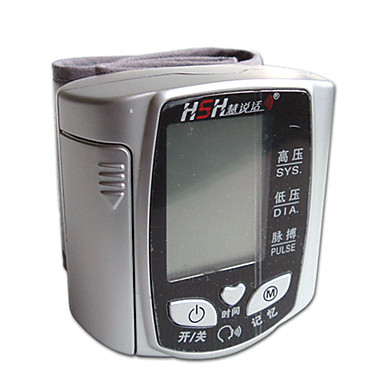 HSH bp600w hånd og håndled intelligent voice-enhed fuldautomatisk elektronisk display