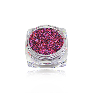 1 Kynsien korut Poeder Muut koristeet Klassiek Schattig Glitter & Sparkle valo Bruiloft Hoge kwaliteit Dagelijks