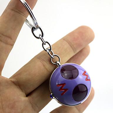 Mais Acessórios Inspirado por Pocket Monster PIKA PIKA Anime Acessórios de Cosplay Chaveiro Púrpura Liga Masculino / Feminino