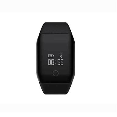 Smart armbånd Pulsmåler Kalorier brent Pedometere Distanse måling Søvnmonitor Vekkerklokke øvelse Påminnelse Stillesittende sittende