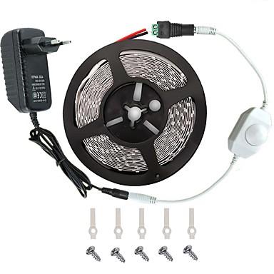 LED conjunto faixa de luz -3528 -300 leds inclui fonte de alimentação 3a (36 watt) e regulador - Conector de luz LED da fita
