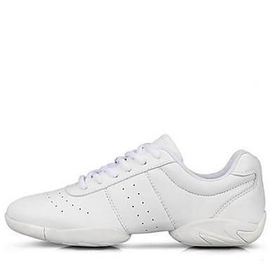 Zapatos de baile(Blanco) -Moderno-No Personalizables-Tacón Bajo