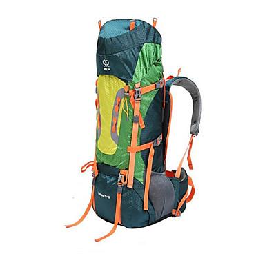 Sheng yuan 80L Ryggsekker / Ryggsekk - Vanntett, Regn-sikker, Varmeisolering Camping & Fjellvandring, Klatring, Reise polyester, Terylene