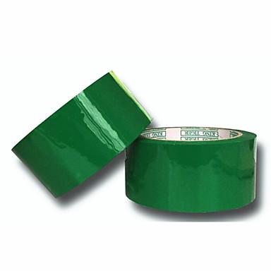 grøn forsegling tape størrelse 4,5 cm * 1,3 cm * 80Y 2 hjul pakket til salg