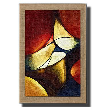 Pintados à mão Abstrato Paisagem Vida Imóvel Fantasia Vertical, Modern Estilo Europeu Tela de pintura Pintura a Óleo Decoração para casa