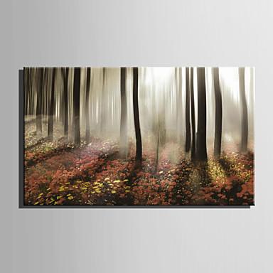 Aufgespannte Leinwandrucke Landschaft Ein Panel Horizontal Druck Wand Dekoration Haus Dekoration