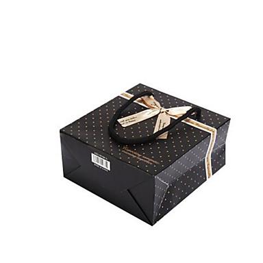 vier 30cm * 27cm * 12cm zwarte vlekken geschenkverpakking per pack