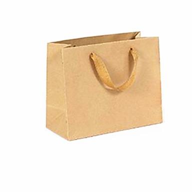 kraft papieren zakken specificaties horizontale 22 * 10 * 18cm 10 verpakt voor de verkoop