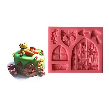 Bageværktøj Plast Øko Venlig / Ny ankomst / kage Udsmykning Kage Cake Moulds 1pc