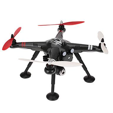 RC Drone XK X380-A 4 Kanaler 6 Akse 2.4G Med HD-kamera 1080P Fjernstyret quadcopter En Knap Til Returflyvning / Fejlsikker / Hovedløs