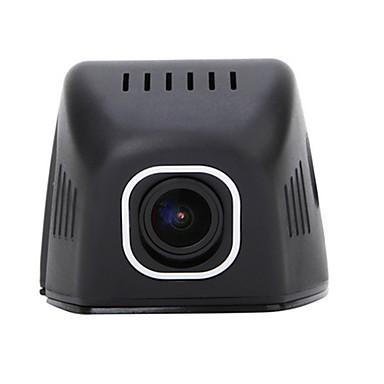OEM-fabrik Ingen Screen (output ved APP) Allwinner TF-kort Sort Bil Kamera