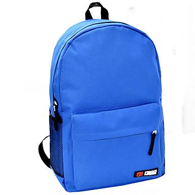 Dames Tassen Nylon Schooltas voor Winkelen Causaal Sport Herfst Blauw Roze Lichtblauw Khaki Lichtblauw