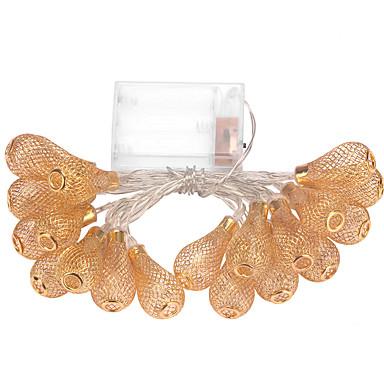 1pc 2.1m 20LED snaar licht voor vakantie partij bruiloft geleid kerstverlichting