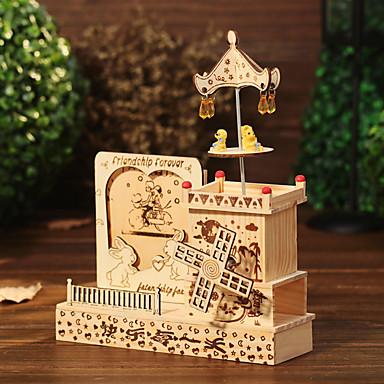 Bruidsshower Feestbedankjes & cadeaus - Ornamenten Label Hout Strand Thema