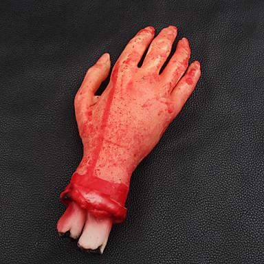 skræmmende brudt finger hånd blod horror halloween dekoration brudt blodige simulere hånd nyhed døde brækket hånd gadgets