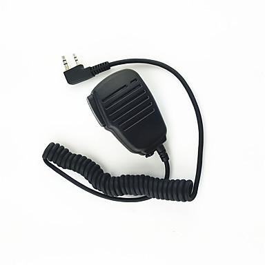 walkie-talkie hombro micrófono micrófono de sonido claro y soltar resistente adecuado para kendood baofeng tyt 365 wouxun