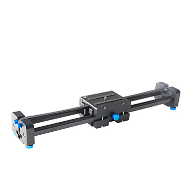 yelangu pro dslr kamera track dolly skyderen video stabilisator med 1/4 og 3/8 gevind skrue for alle typer af kameraer dv