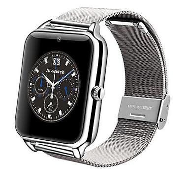 Reloj elegante para iOS / Android Calorías Quemadas / Llamadas con Manos Libres / Pantalla Táctil / Cámara / Podómetros Recordatorio de Llamadas / Seguimiento de Actividad / Seguimiento del Sueño
