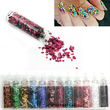 12 Nail Art Decoration Rhinestone Pearls make-up Cosmetische Nail Art Design