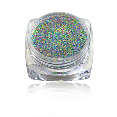 1pcs Nail Smykker / Pudder / Andre dekorasjoner Klassisk / Glitter & Sparkle / Lys Smuk Daglig