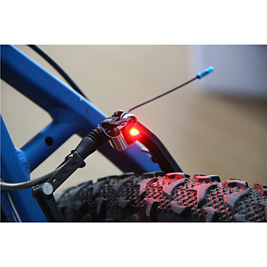 luzes de segurança LED LED Ciclismo Super Leve Tamanho Pequeno C-Cell 100 Lumens Bateria Ciclismo